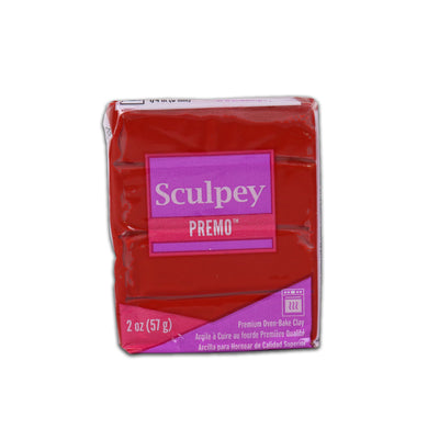 Sculpey Premo Clay- Cayenne, 2 Ounce, 57gm