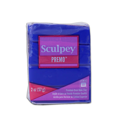 Sculpey Premo Clay- Ultramarine Blue Hue, 2 Ounce, 57gm