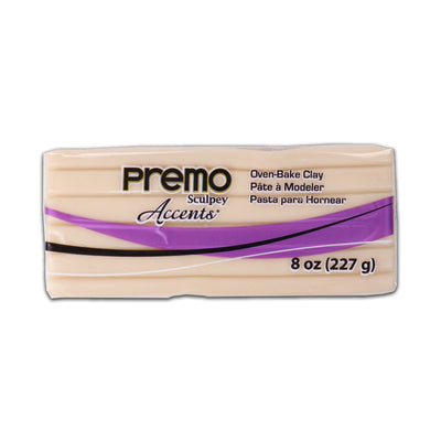 Sculpey Premo Clay- Translucent, 8 Ounce, 226gm