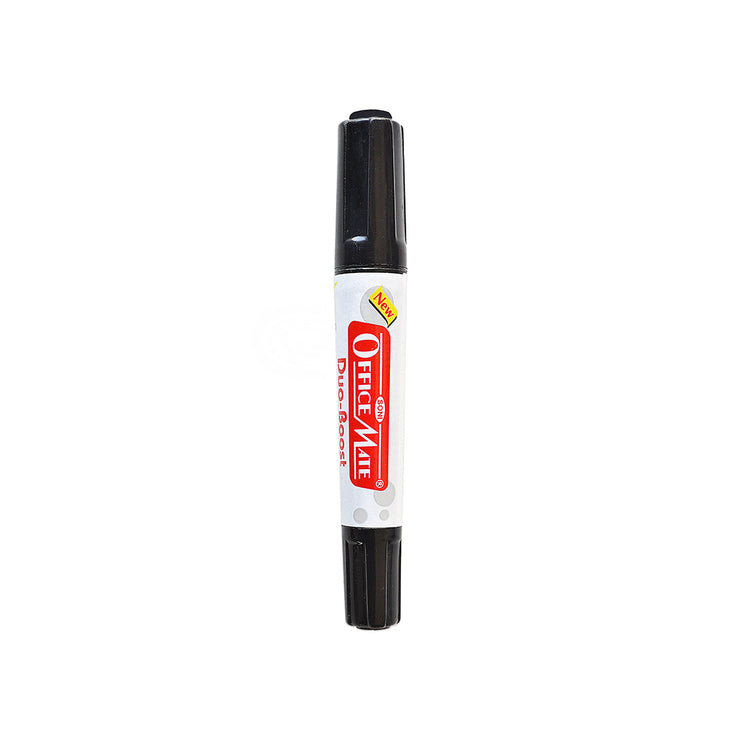 Double Tip Permanent Marker - Black