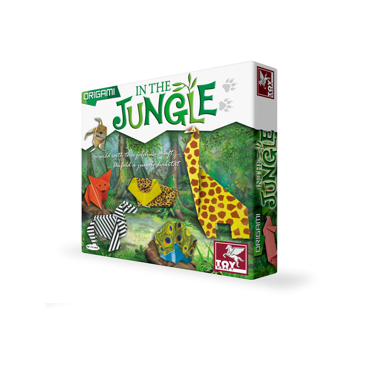 Origami - In The Jungle - Craft for Kids Ages 7 8 9