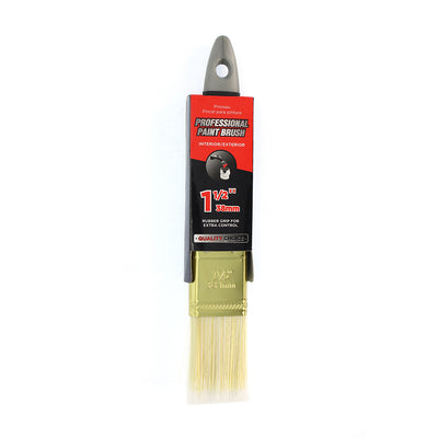 Professional Paint Brush with Rubber Grip- 38.1mm, 1pc