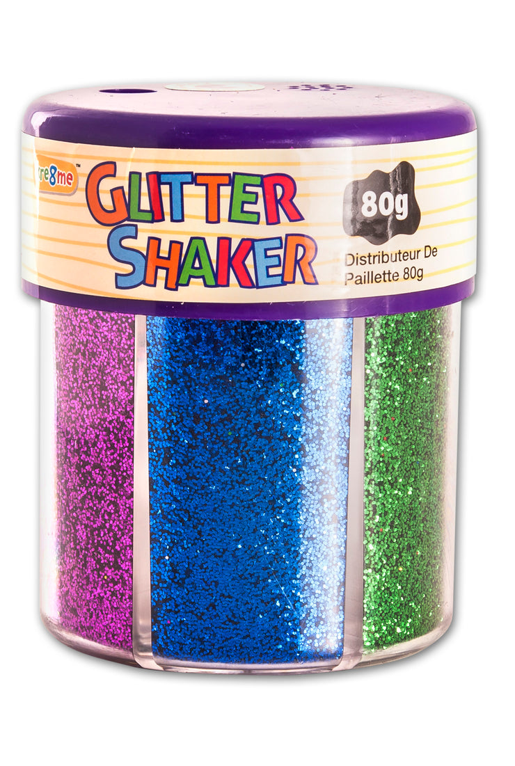 Glitter Shaker - Pink/Blue/Green/Red/Silver/Gold 80 gm