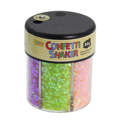 Confetti Shaker-  6 Bright Shades, 80 grams