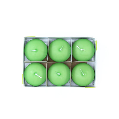 Floating Candle - Jasmine, 6Pc