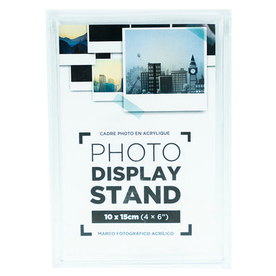Acrylic Photo Display Stand - Vertical, 10X15Cm,1 Pc