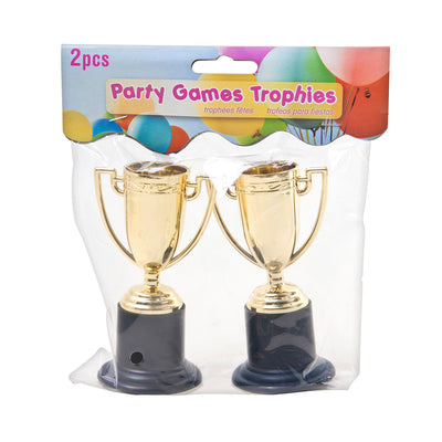 Plastic Party Trophy - Gold