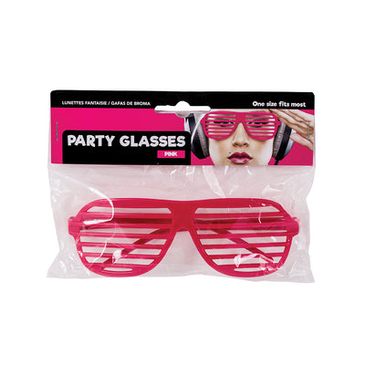 Party Glasses- Pink