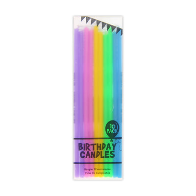 Birthday Candles - Pack of 10