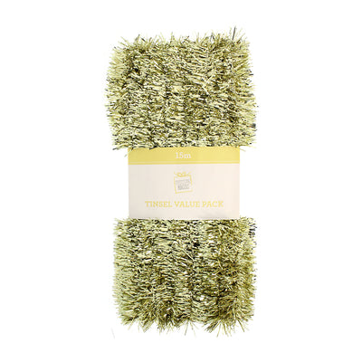 Tinsel Value Pack - Gold, 15M, 2Ply, 1Pc