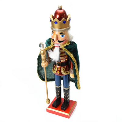 Christmas Decoration -  Nutcracker in Cape, Assorted Colour, 38cm