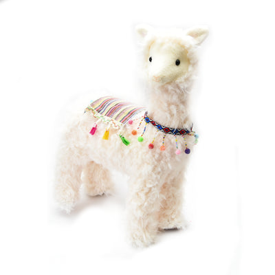 Soft Toy -  Llama, White, 59cm, 1pc