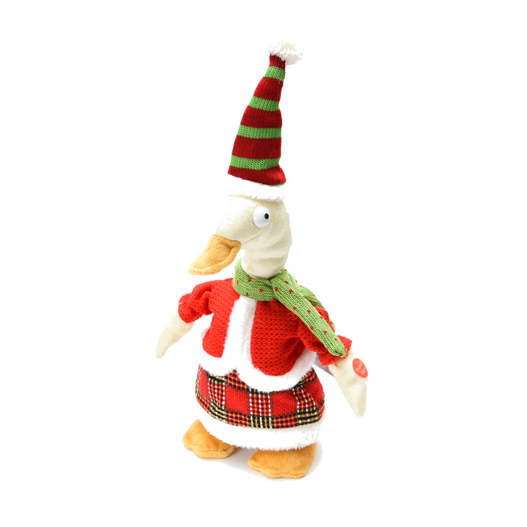 Walking Duck with Sensor - Red, 35cm