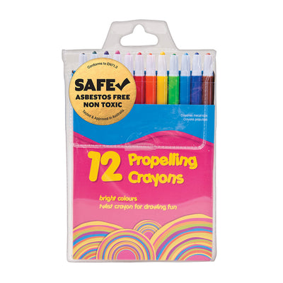 Propelling Crayons- Set of 12