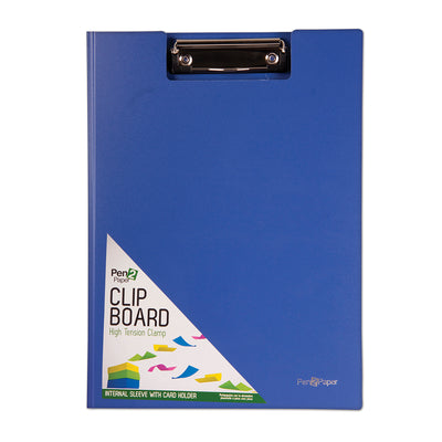 PVC Clip Board With High Tension Clamp