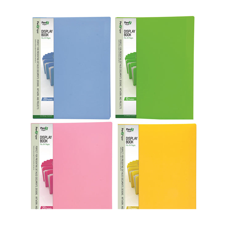 Display Book Folder 1pc- A4 size