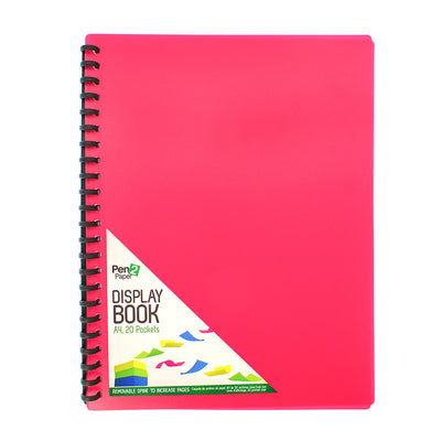 Display Book Spiral Folder 1pc- A4 size