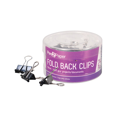 Bulldog/ Binder/ Fold Back Clips-19 mm