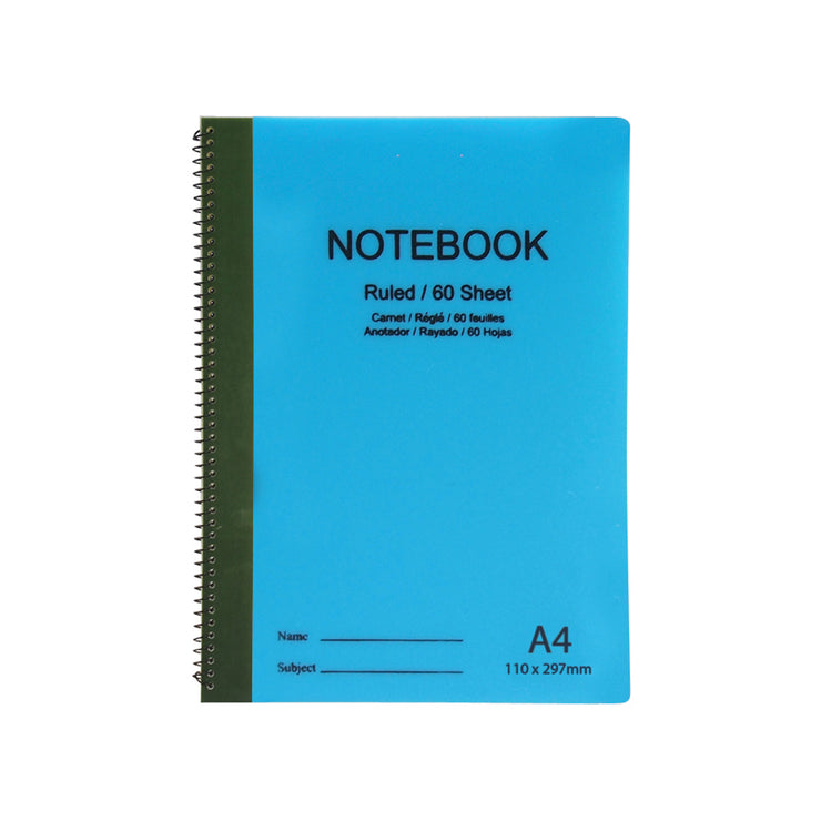 Spiral Notebook- Ruled A6 size