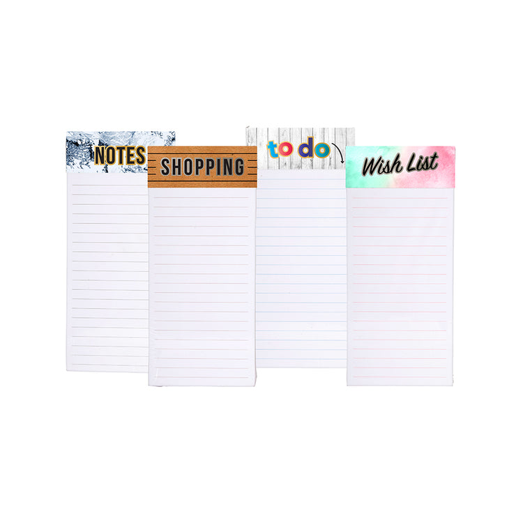 Shopping List Magnetic Memo Note Pad - 80 sheets