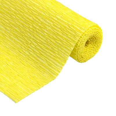 Flower Making Crepe Paper Extra Stretchable- Light Yellow