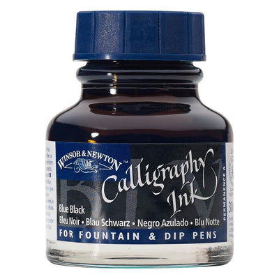 Winsor & Newton Calligraphy Ink- Blue Black, 30ml