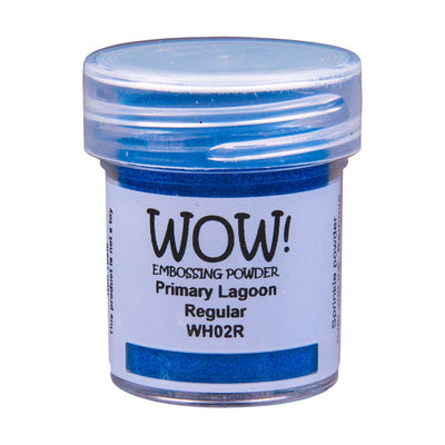 WOW Primary Embossing Powder Lagoon Regular, 15Ml Jar