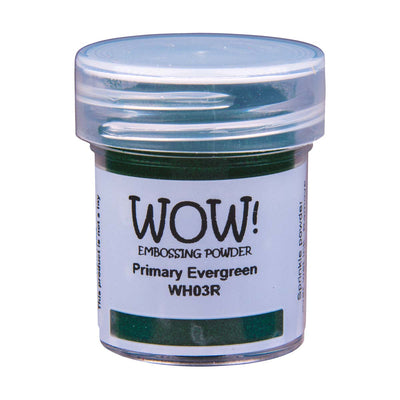 WOW Primary Embossing Powder Evergreen Regular, 15Ml Jar