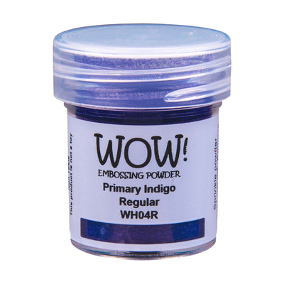 WOW Primary Embossing Powder Indigo Regular, 15Ml Jar