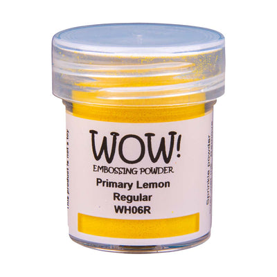 WOW Primary Embossing Powder Lemon Regular, 15Ml Jar