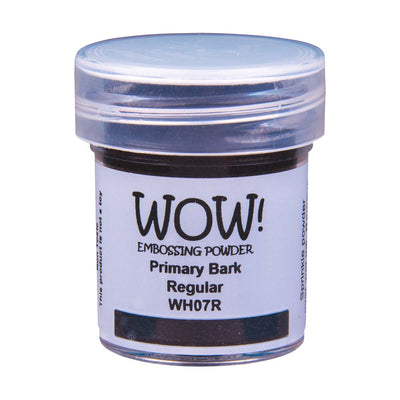 WOW Primary Embossing Powder Bark Regular, 15Ml Jar