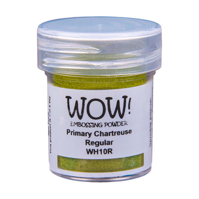 WOW Primary Embossing Powder Chartreuse Regular, 15Ml Jar