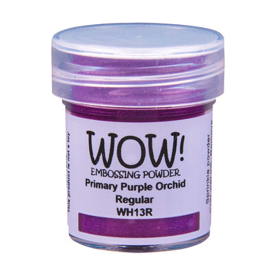 WOW Primary Embossing Powder Purple Orchid Regular, 15Ml Jar