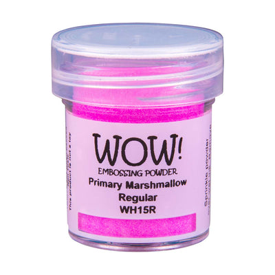 WOW Primary Embossing Powder Marshmallow Regular, 15Ml Jar