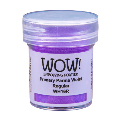 WOW Primary Embossing Powder Parma Violet Regular, 15Ml Jar