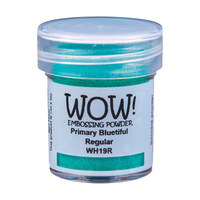WOW Primary Embossing Powder Bluetiful Regular, 15Ml Jar