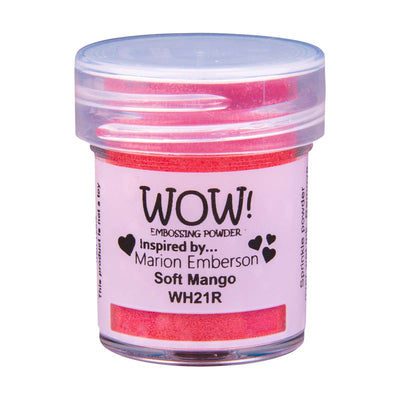 WOW Primary Embossing Powder Soft Mango Regular, 15Ml Jar