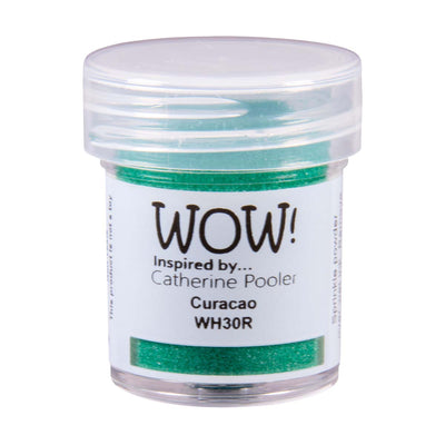 WOW Primary Embossing Powder Curacao Regular Catherine Pooler, 15Ml Jar