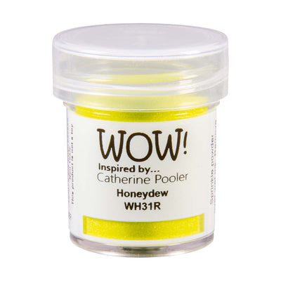 WOW Primary Embossing Powder Honey Dew Regular Catherine Pooler, 15Ml Jar