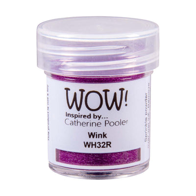 WOW Primary Embossing Powder Wink Regular Catherine Pooler, 15Ml Jar