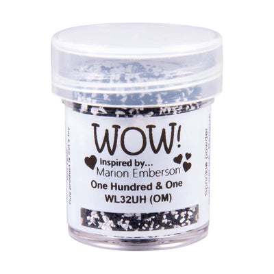 WOW Colour Blend Embossing Powder One Hundred & One Ultra High Marion Emberson, 15Ml Jar