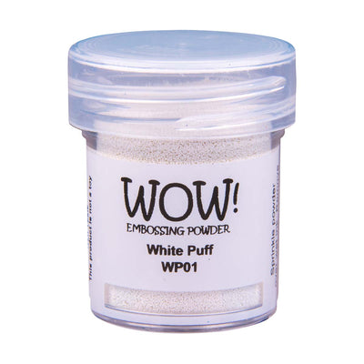 WOW Puff Embossing Powder White, 15Ml Jar
