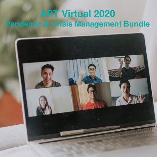 APTvirtual 2020 Pandemic and Crisis Management Bundle