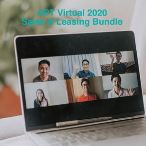 APTvirtual 2020 Sales and Leasing Bundle