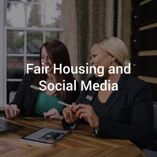 Fair Housing and Social Media