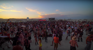 Our Favorite Sunset Set from Burning Man 2018