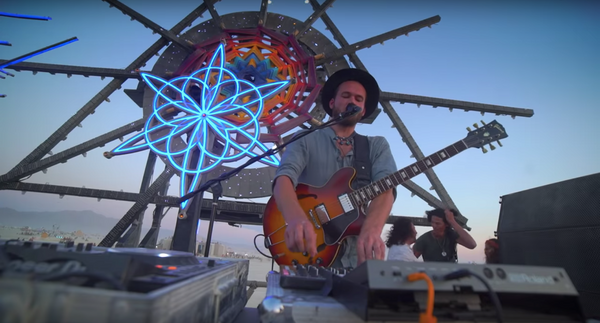 Monolink Sunset Set Burning Man 2018