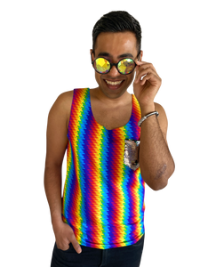 Men's Troublemaker Tank | Multicolor Magic