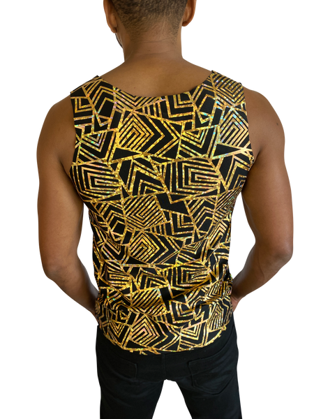 Men's Troublemaker Tank | Get It Gold