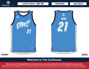 SMCDM Basketball Jerseys - Clubhouse Athletic